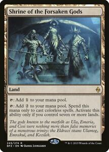 Shrine of the Forsaken Gods Battle for Zendikar NM Land Rare MTG CARD ABUGames