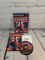 Ultimate Spider-Man Video Game for Sony PlayStation 2 PS2 PAL TESTED. Complete