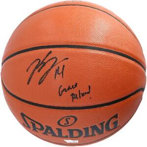 "Brandon Ingram New Orleans Pelicans Signed Basketball & ""Geaux Pelicans"" Insc"