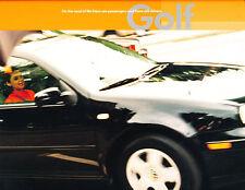 2001 VW Volkswagen Golf and GLS 22-page Original Car Sales Brochure Catalog