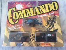 Matchbox Convoy Semi Commando Strike Team Set-military Army 3 Pack