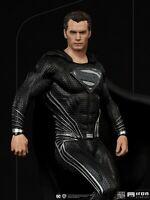 Iron Studios 1/10 Black Suit Superman Zack Snyder's Justice League Action Figure