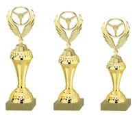 3er Serie Motorsport-Pokale gold (630-L) 29-25cm inkl. Gravur 23,95 EUR