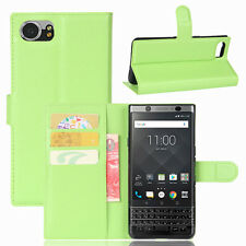 Case Cover For Blackberry KEYone Magnetic Flip PU Leather Wallet Card Holder