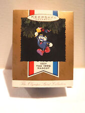 HALLMARK KEEPSAKE IZZY - THE 1996 OLYMPIC MASCOT ORNAMENT - NEW IN BOX