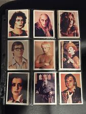 1975 The Rocky Horror Picture Show 60 Card Trading Card Set W/Wrapper