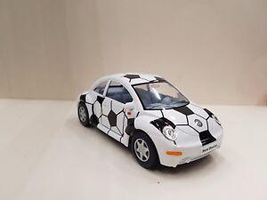 vw Volkswagen new Beetle white black kinsmart TOY car model 1/32 scale diecast