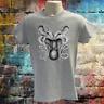 Octopus T-shirt, sea creature Tee, nautical design, vintage octopus sketch Tee