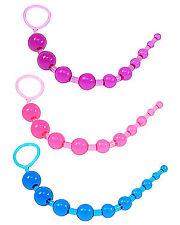 Toy Joy Thai Unisex Graduated Anal Beads Sex Toys Purple