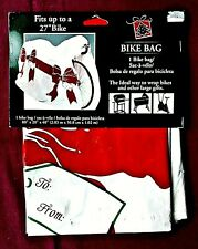 "Super-Large 80""x40""x20"" Gift Bag for wrapping Bikes and other Large Gifts"