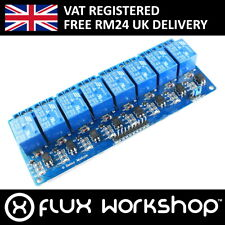 5V 8 Channel Relay Module250V 125V AC 30V 28V DC Arduino PIC AVR Flux Workshop