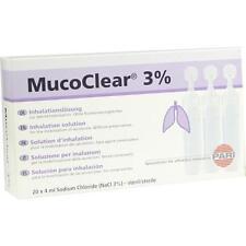 MUCOCLEAR 3% NaCl Inhalationslösung 20X4ml PZN 5737219