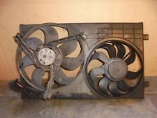 SEAT LEON 2000 MK1 1.6 16V RADIATOR FANS WITH COWLING 1J0121207T /  1J0959455P
