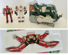 MIGHTY MORPHIN Power Rangers TOR The SHUTTLEZORD + RED DRAGON THUNDERZORD...