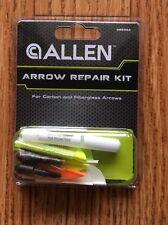 New ALLEN Arrow Repair Kit For Carbon and Fiberglass Arrows