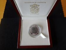 More details for 2006 bi-metal silver & titanium proof luxembourg 20 euro coin 150th conseil