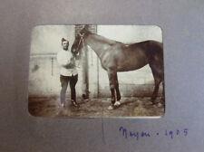 ALBUM DE MILITAIRE ET FAMILLE vers 1900  photos époque
