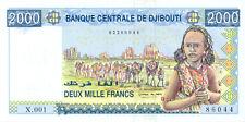 Djibouti P-34 2000 francs (2005) UNC