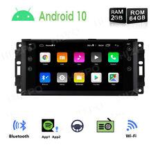 "7"" Android 10 Car Radio GPS Navi Stereo Wifi for Jeep Grand Cherokee Liberty 64G"