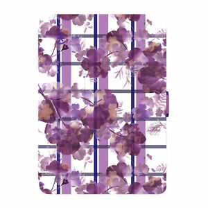 Speck Stylefolio Tablet Case iPad Mini 4 Porcelain Floral Plaid Beaming Orchid
