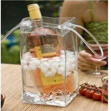 Drink Ice Bag Bottle Cooler Chiller Foldable Carrier Wine Beer Champagne Bag