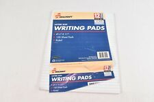 SKILCRAFT Writing Paper Pad, Wide-Ruled, Letter, 8-1/2