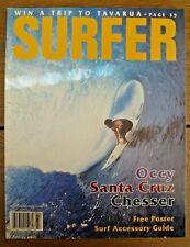 Collectible - Vintage Surfer Magazine - '97 Vol 38 No 7 - Poster - Todd Chesser