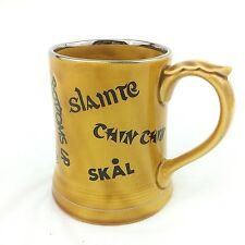 Unique Wade of England Tankard Mug Multi Lingual Cheers