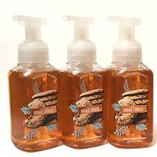 3 BATH & BODY WORKS CITRUS SUGAR COOKIE GENTLE FOAMING HAND SOAP 8.75 OZ WASH