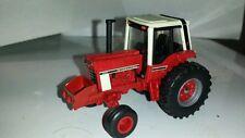 1/64 custom ERTL farm toys international ih 1086 tractor with front rock box
