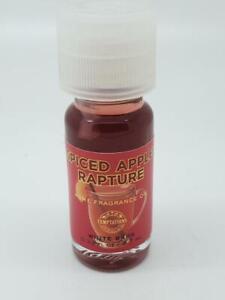 "Bath & Body Works Home Fragrance Oil ""Spiced Apple Rapture"" White Barn"