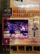 Upper Deck Diamond Vision Michael Jordan Highlight Reel - Finals Strike - New