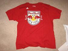 NEW YORK RED BULL Soccer Team T-SHIRT Adidas 2XL MLS