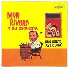 FANIA Salsa RARE CD REMASTERED Mon Rivera y su Orquesta QUE GENTE AVERIGUA cuca