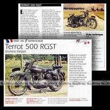 TERROT 500 RGST 1948 Classic Bike - Fiche Moto MRC