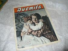 DUEMILA SETTIMANALE DI AVVENTURE N.45 1951 RARA RIVISTA FOTOROMANZI VARIETA'