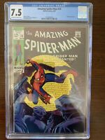 Amazing Spider-Man #70 CGC 7.5 (Marvel 1969)  Kingpin appearance!