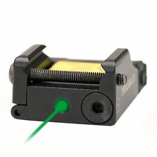TRUGLO Green Laser Micro-Tac Aiming Sight Fits WALTHER CCP PK380 P99 PPQ PPX