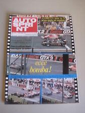 AUTOSPRINT 21/1978 - GP Belgio / Mario Andretti / Lotus / Formula 2 Pau