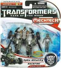Transformers Mechtech Spike Witwicky Backfire Dark of the Moon Autobot