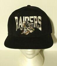 vintage RAIDERS cariacature snapback hat LOS ANGLES OAKLAND nwa hip hop