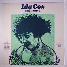 IDA COX: Volume 2 LP (UK) Jazz