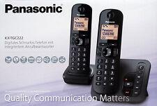 Panasonic KX-TGC222 DECT Telefon Set Anrufbeantworter AB 222 DUO Neu Händler