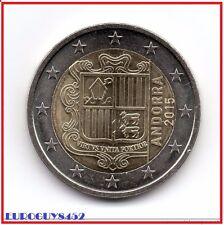 ANDORRA - 2 € 2015 UNC - KOERSMUNT