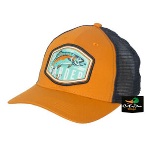 NEW BANDED PERFORMANCE GEAR TRUCKER CAP - TROUT SCOUT FISHING LOGO HAT -