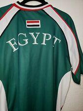 Egypt Soccer Jersey Size Large