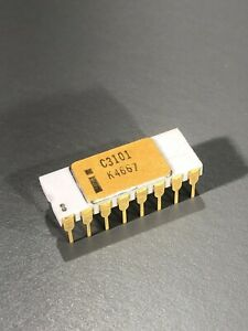 Intel C3101 - Intel's First Product and The First Memory Chip - SRAM,3101