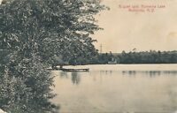 MONTICELLO NY – Kiamesha Lake A Quite Spot - 1909
