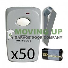 Linear 3089 Multi-Code Remote MCS308911 308911 Gate Garage Opener QTY 50
