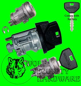Dodge Ram Dakota Ignition Key Switch Lock Cylinder & Door Lock Tumbler Set 3 Key